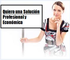 Quiero una solución profesional y económica