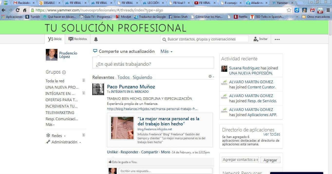 Red Tu solución Profesional