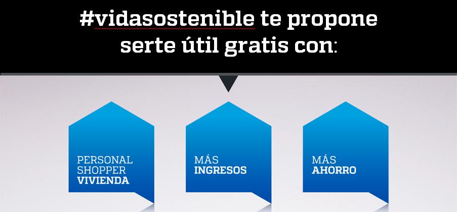 #vidasostenible te propone gratis