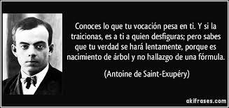 Vocación Antonie de Saint-Exupéry