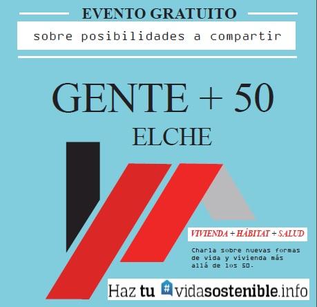 Evento gratuito Elche +50
