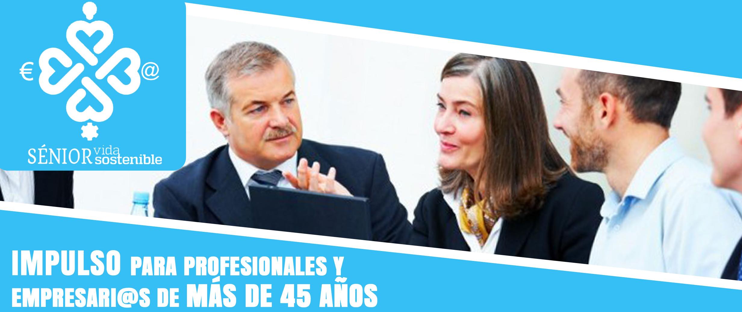 Impulso para profesionales y empresarias de más de 45 años