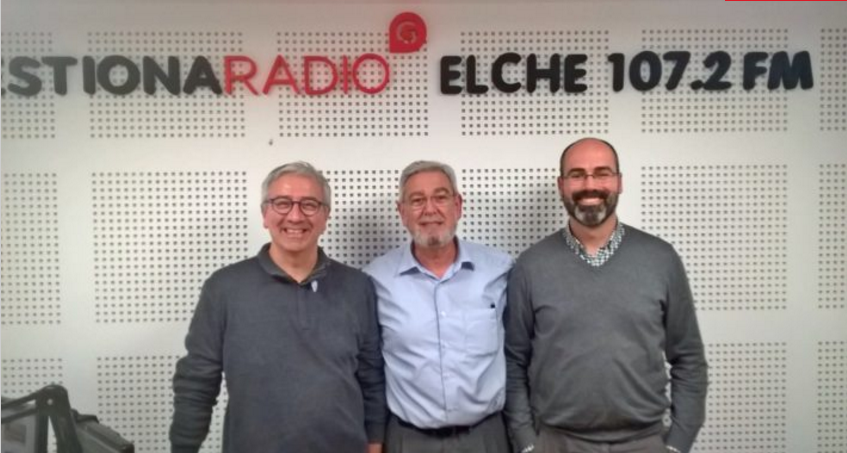 En la Radio, el Equipo nuclear de Elche Cohousing Sénior