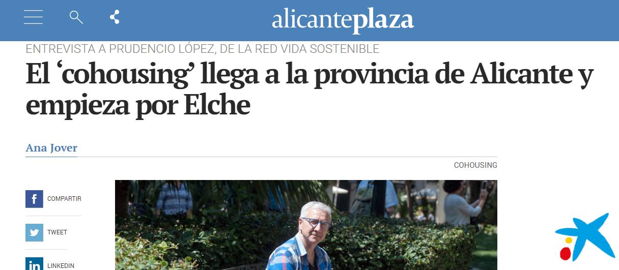 El Cohousing llega a Alicante y Elche