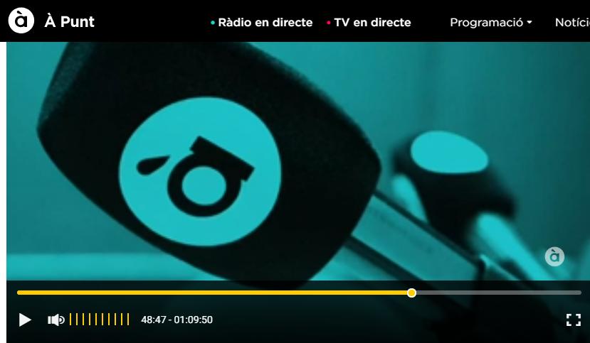 Seniorsvidasostenible Publicado por Prudencio López Vicedo · 7 min ·  #Radio. Programa (desde minuto 10') con mesa de especialistas en Soluciones para la #Madurez Activa.  Perspectivas desde la Gerontología, Psicología, Trabajo Social, Investigación y #CohousingSénior.  Nuestro coordinador, Prudencio López, participando en este Programa de Radio para la Comunidad Valenciana (en Valenciá)  https://apuntmedia.es/…/esco…/al-ras/26-07-2018-primera-hora