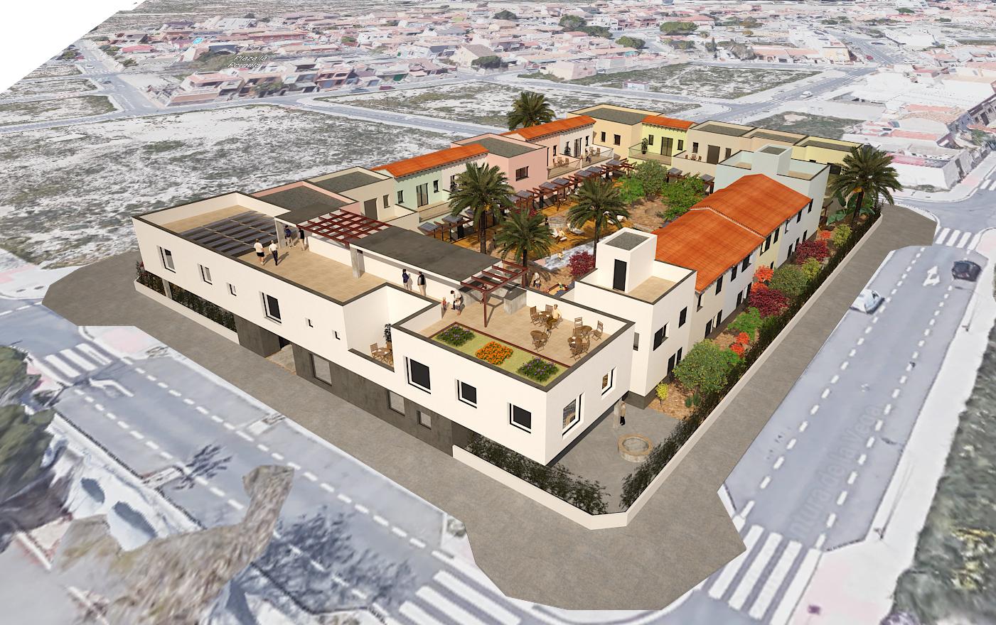 Alicante Cohousing Intergeneracional en Suelo Público