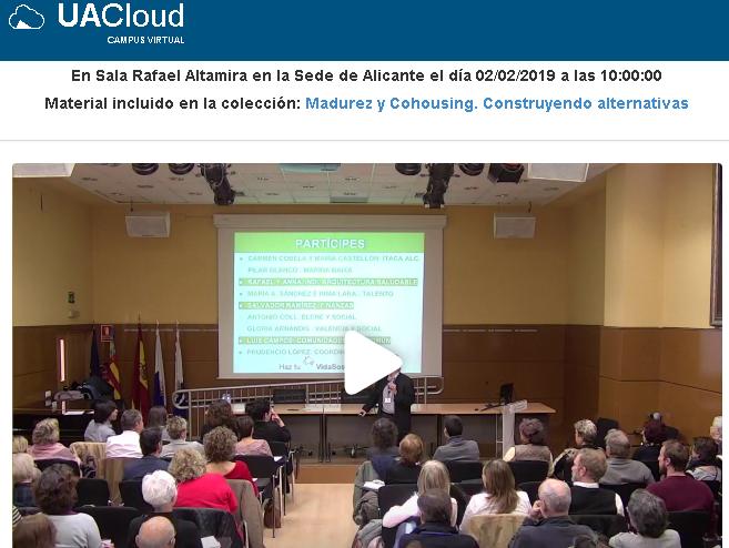 2.2.19 Convivencia Cohousing Alicante. 90 asistentes